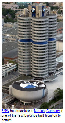 bmw four-cylinder building munich