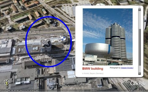 bmw four cylinder google earth munich 48-10-36.90 11-33-30.87