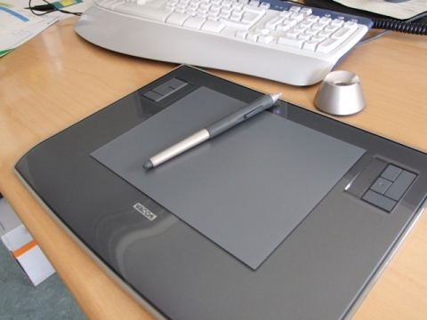 repetitive strain injury solution 10: wacom intuos 3 graphics tablet