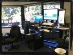(C) standing computer desk ergonimic