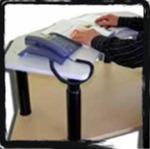 (E) standing computer desk ergonimic
