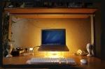 (F) standing computer desk ergonimic