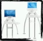 (I) standing computer desk ergonimic