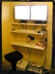 (J) standing computer desk ergonimic