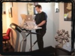 (K) standing computer desk ergonimic
