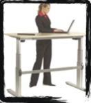 (Z2) - standing computer desk ergonimic - active standing