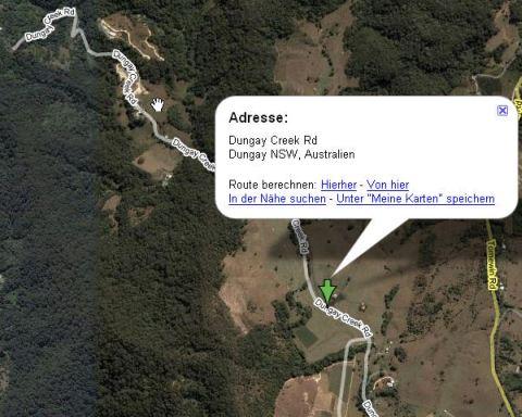 Ich bin ein Star holt mich hier raus - dungay creek road australien