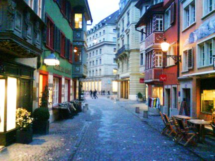 zurich hotels old town