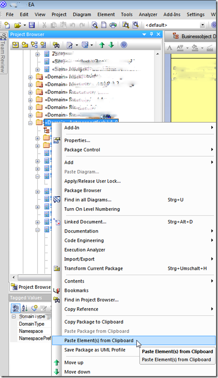 enterprise-architect-tutorial-3-ea-do-paste-elements-from-clipboard