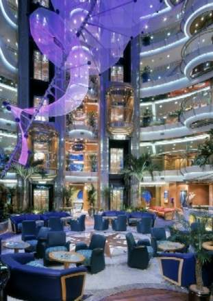 The Brilliance OF the Seas Atrium