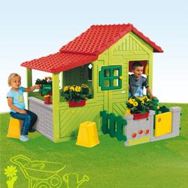 D Gartenspielhaus Stelzenhaus Kinder Spielhäuser Smoby
